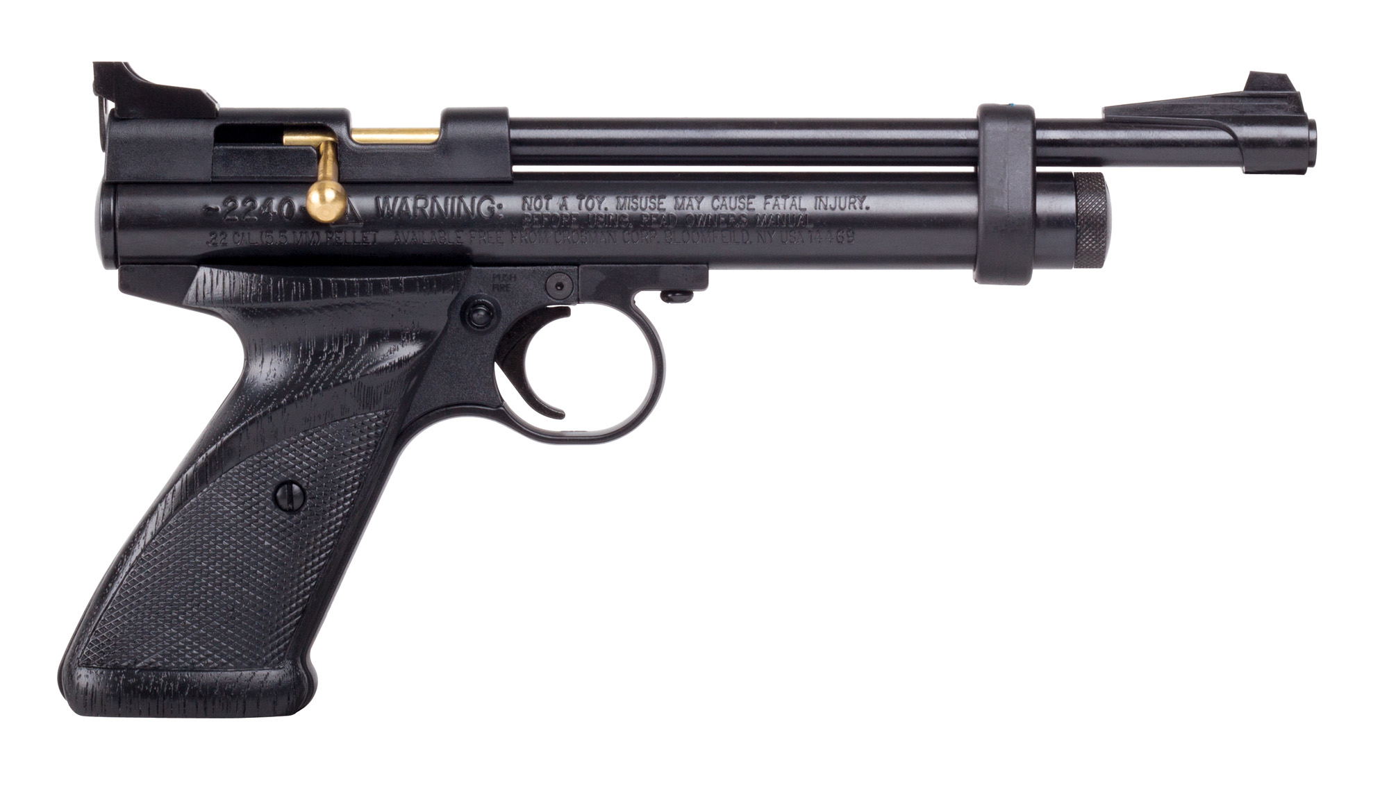 Crosman 2240 Bolt Action .22 Pellet CO2 Air Pistol